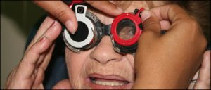 (Photo) Hundreds of eye patients are treated every day by Cuban medical staff