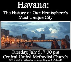 Havana Tuesday July 9 pic