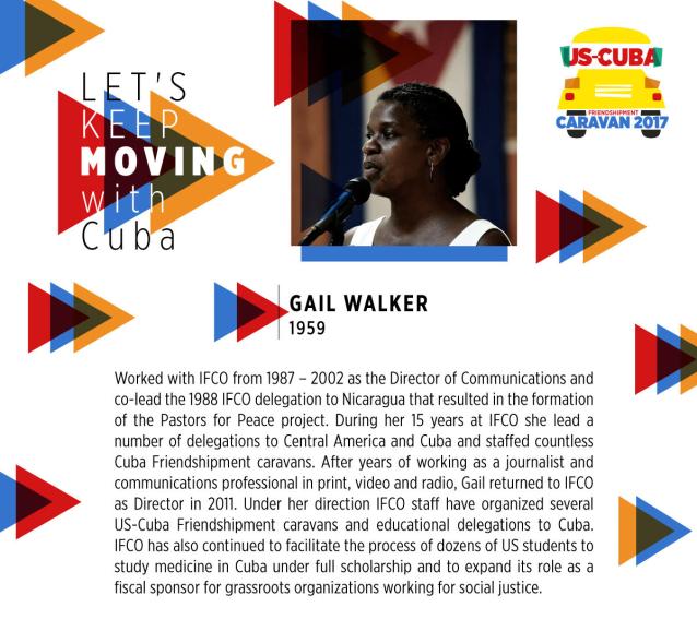 Gail Walker-Cuba Caravan