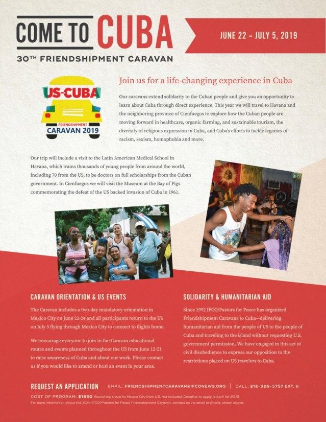 Caravan Flyer 2019