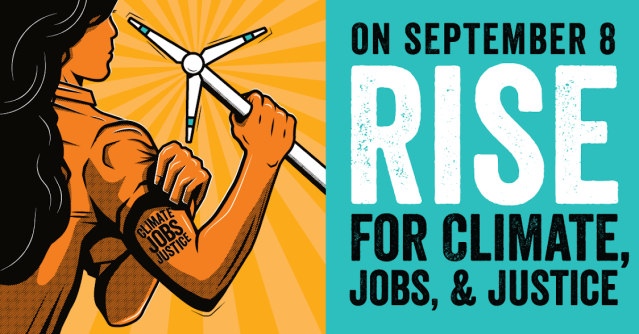 Rise for climate jobs justice